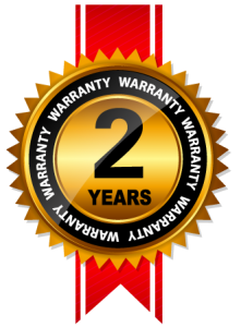 Two Year Warranty Seal