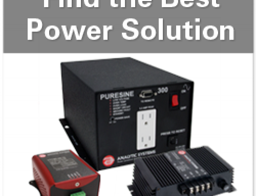 "Article – New ""Intelligent"" Power Converters Provide Flexibility for Rail & Marine Electronics"