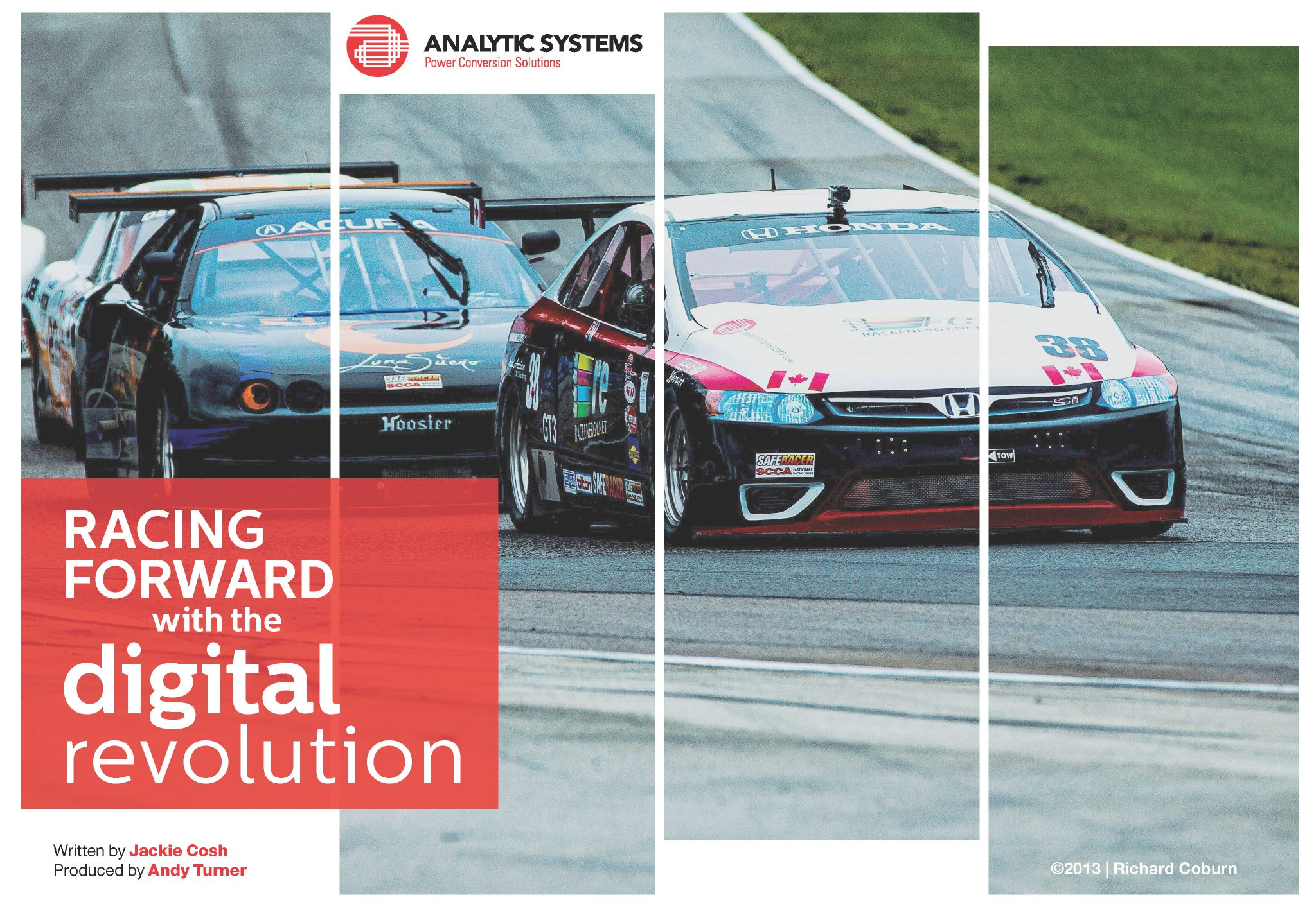 Racing Forward with the Digital Revolution